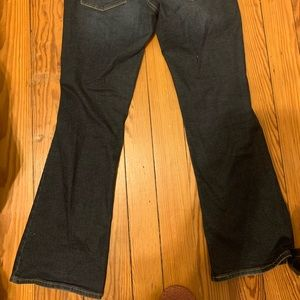 Size 8S boot cut jeans
